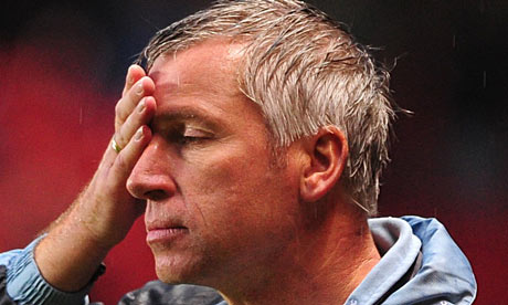 Pardew Not In Running For England