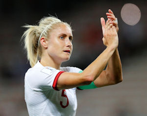 Steph Houghton Follows In Alan Shearer's Footsteps